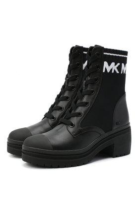 Комбинированные ботинки Brea | Фото №1