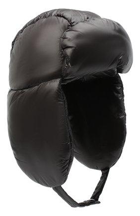 Мужская шапка-ушанка DRIES VAN NOTEN черного цвета, арт. 202-20609-1178 | Фото 1