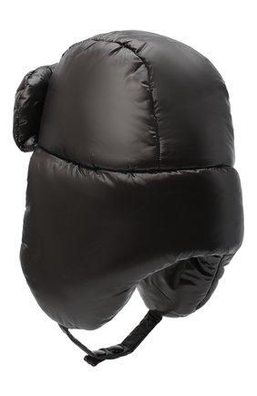 Мужская шапка-ушанка DRIES VAN NOTEN черного цвета, арт. 202-20609-1178 | Фото 2
