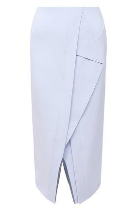 Женская юбка ROLAND MOURET голубого цвета, арт. PW20/S0927/F2241   Фото 1