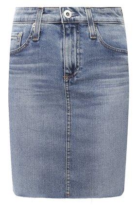 Женская джинсовая юбка AG голубого цвета, арт. LED1538RH/20YRCV | Фото 1