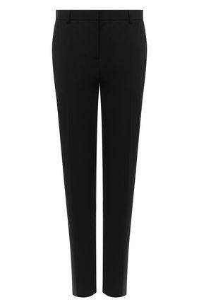 Женские шерстяные брюки THEORY черного цвета, арт. J0701214 | Фото 1