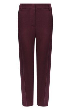 Женские шерстяные брюки MARNI бордового цвета, арт. PAMA0111U0/TW839 | Фото 1
