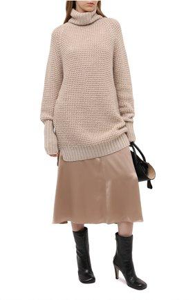 Женский шерстяной свитер PIETRO BRUNELLI бежевого цвета, арт. MAG002/WP0001 | Фото 2