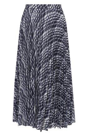 Женская юбка ST. JOHN темно-синего цвета, арт. K710WB2   Фото 1