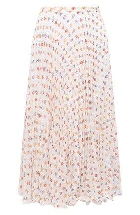 Женская юбка SEE BY CHLOÉ светло-бежевого цвета, арт. CHS20AJU02032 | Фото 1