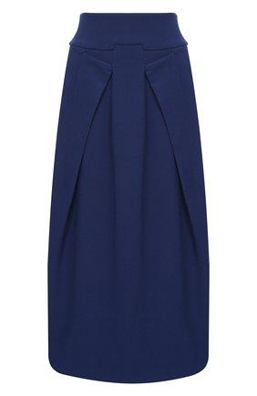 Женская юбка-миди ROLAND MOURET синего цвета, арт. PW20/S0656/F2196   Фото 1