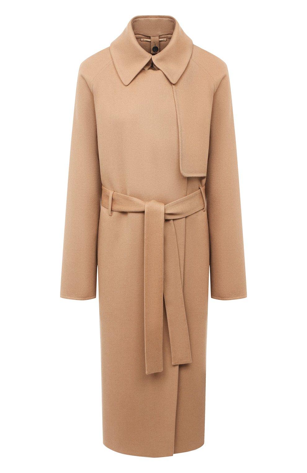 Женское кашемировое пальто TOM FORD бежевого цвета, арт. CP1528-FAX616   Фото 1