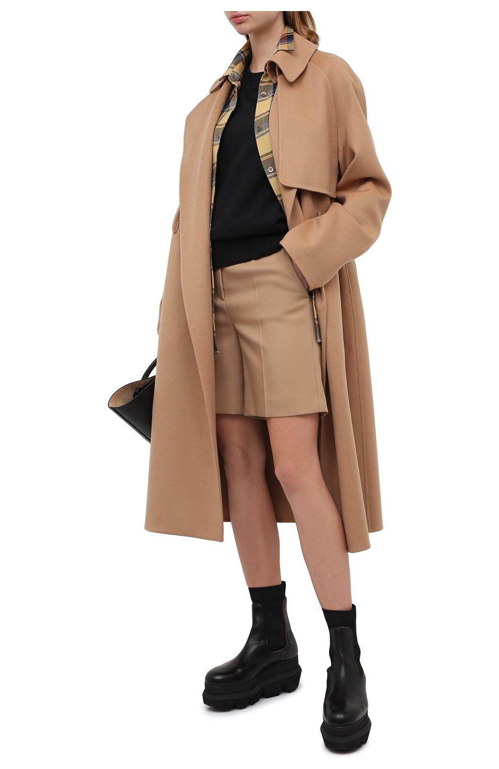 Женское кашемировое пальто TOM FORD бежевого цвета, арт. CP1528-FAX616   Фото 3