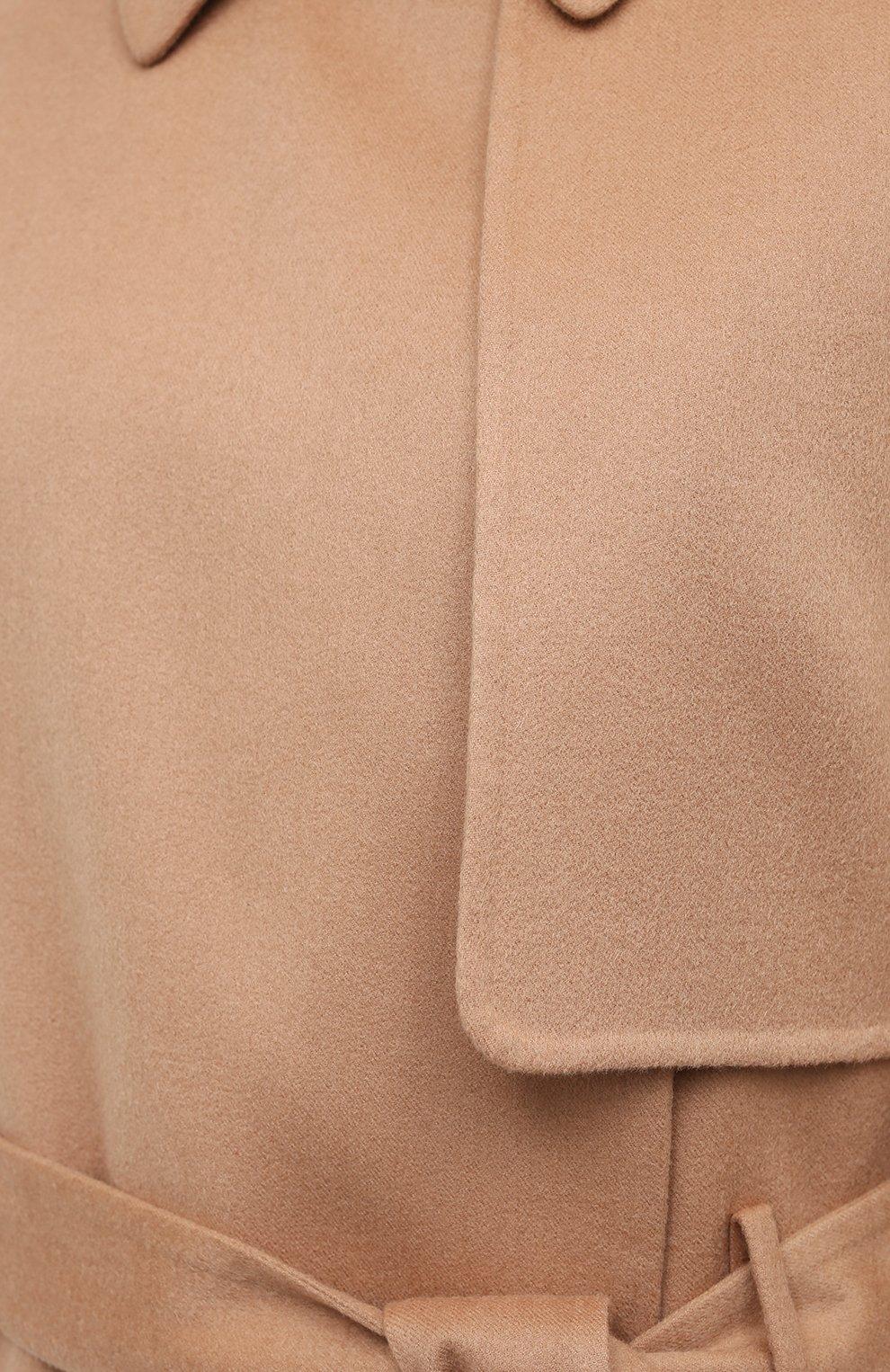 Женское кашемировое пальто TOM FORD бежевого цвета, арт. CP1528-FAX616   Фото 6