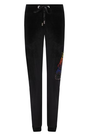 Женские джоггеры PHILIPP PLEIN черного цвета, арт. F20C WJT1245 PJO002N | Фото 1
