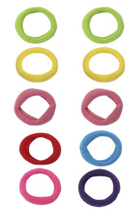Детская комплект из 10-ти резинок JUNEFEE разноцветного цвета, арт. 6563 | Фото 1