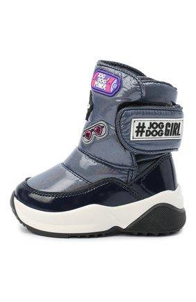 Детские ботинки JOG DOG синего цвета, арт. 1805R/ZAFFIR0 SPARK/29-35 | Фото 2