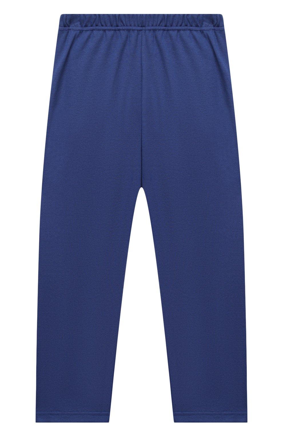 Женская хлопковая пижама LA PERLA темно-синего цвета, арт. 54862/8A-14A   Фото 5