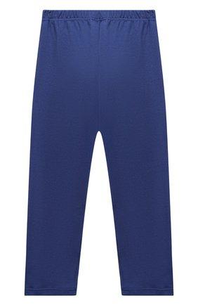Женская хлопковая пижама LA PERLA темно-синего цвета, арт. 54862/8A-14A   Фото 6