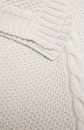 Детского шерстяное одеяло BABY T серого цвета, арт. 20AI032C0 | Фото 2