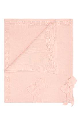 Детского шерстяное одеяло BABY T светло-розового цвета, арт. 20AI102C0 | Фото 1