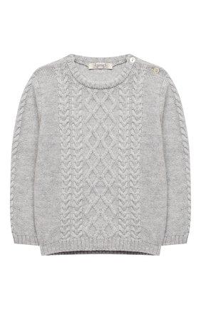 Детский комплект из пуловера и брюк BABY T серого цвета, арт. 20AI160C/18M-3A | Фото 2
