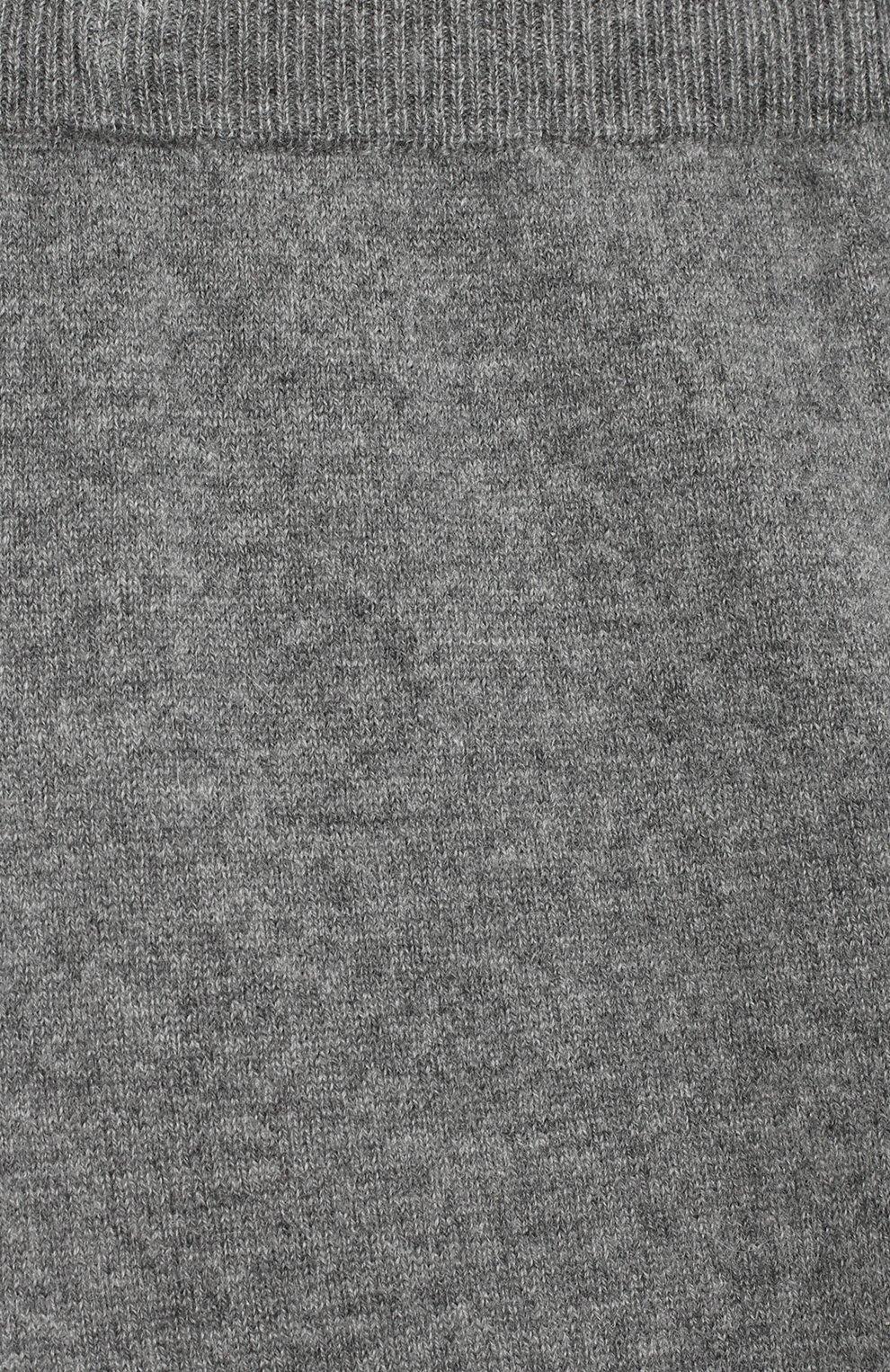 Детские кашемировые джоггеры GIORGETTI CASHMERE темно-серого цвета, арт. MB933/WS/8A-14A | Фото 3
