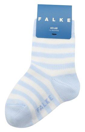 Детские хлопковые носки FALKE голубого цвета, арт. 10045. | Фото 1