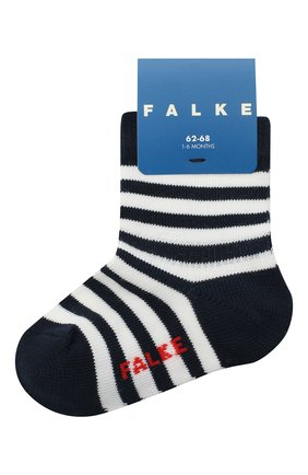 Детские хлопковые носки FALKE темно-синего цвета, арт. 10045. | Фото 1