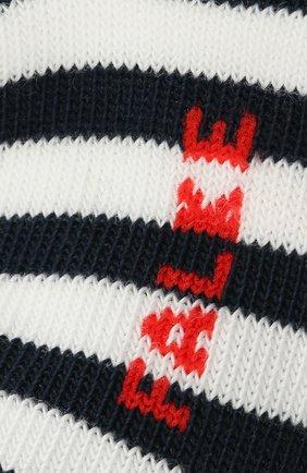 Детские хлопковые носки FALKE темно-синего цвета, арт. 10045. | Фото 2