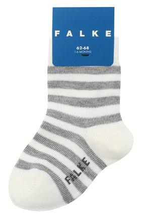 Детские хлопковые носки FALKE белого цвета, арт. 10045. | Фото 1