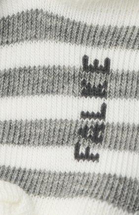 Детские хлопковые носки FALKE белого цвета, арт. 10045. | Фото 2