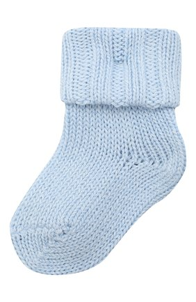 Детские хлопковые носки FALKE голубого цвета, арт. 10408. | Фото 1
