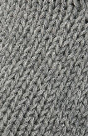Детские хлопковые носки FALKE серого цвета, арт. 10408. | Фото 2