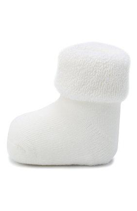 Детские хлопковые носки FALKE белого цвета, арт. 10612. | Фото 2