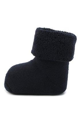 Детские хлопковые носки FALKE синего цвета, арт. 10612. | Фото 2 (Материал: Хлопок, Текстиль)