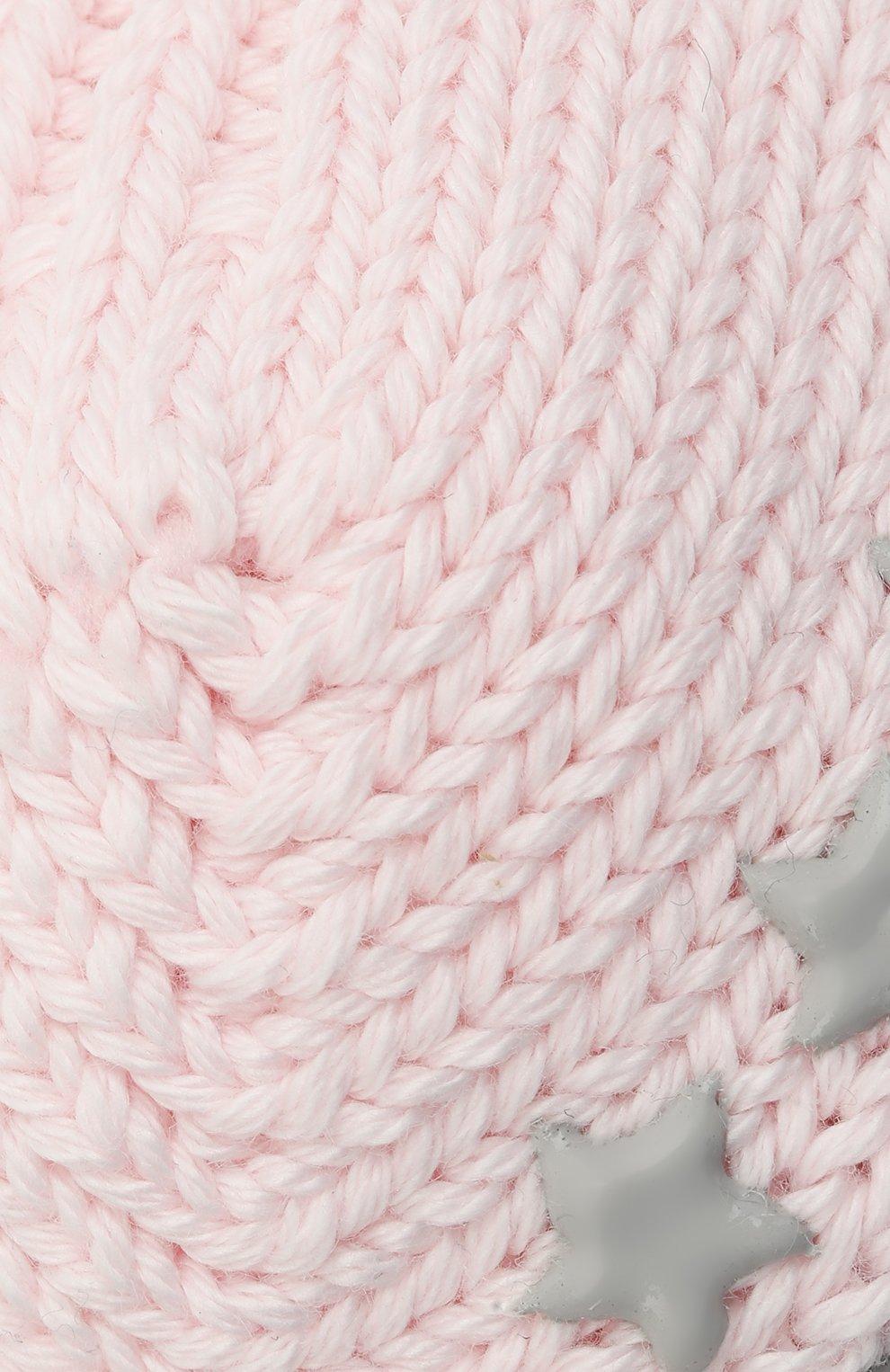 Детские хлопковые носки FALKE розового цвета, арт. 10603.   Фото 2 (Материал: Текстиль, Хлопок)