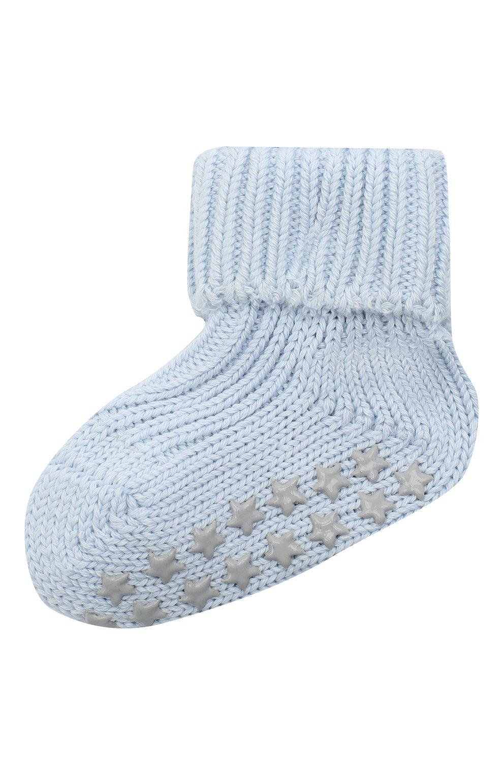 Детские хлопковые носки FALKE голубого цвета, арт. 10603. | Фото 1