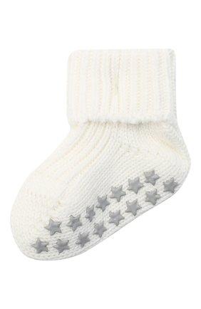 Детские хлопковые носки FALKE бежевого цвета, арт. 10603. | Фото 1