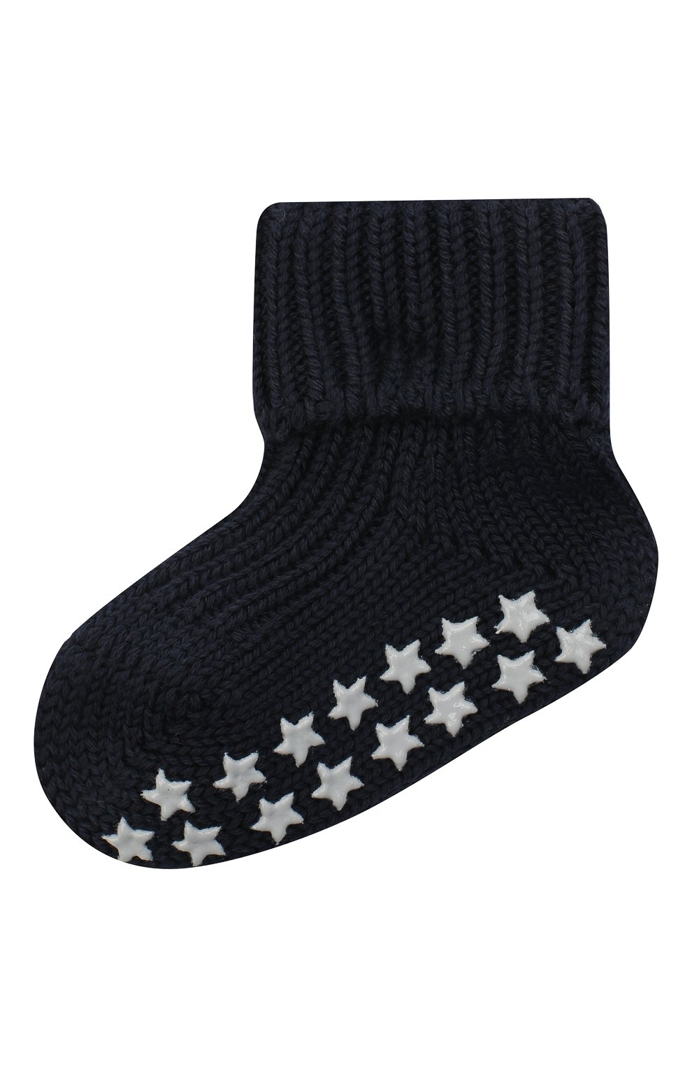 Детские хлопковые носки FALKE темно-синего цвета, арт. 10603. | Фото 1 (Материал: Текстиль, Хлопок)