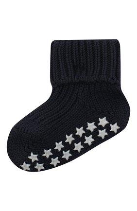 Детские хлопковые носки FALKE темно-синего цвета, арт. 10603. | Фото 1