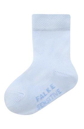 Детские хлопковые носки FALKE голубого цвета, арт. 10626. | Фото 1