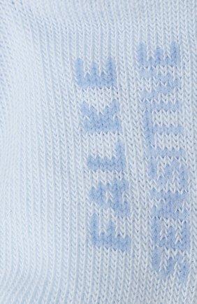 Детские хлопковые носки FALKE голубого цвета, арт. 10626. | Фото 2