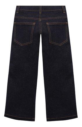 Детские джинсы FENDI синего цвета, арт. JUF021/A6IQ/3A-6A | Фото 2