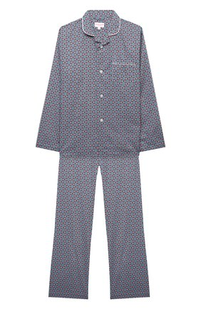 Детская хлопковая пижама DEREK ROSE разноцветного цвета, арт. 7025-LEDB037/3-12 | Фото 1