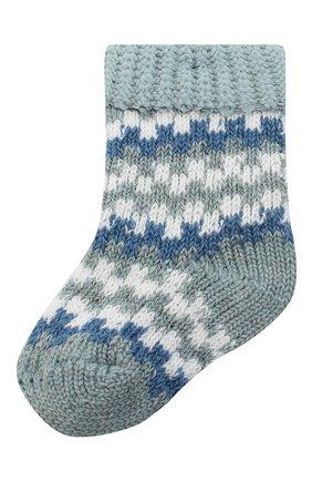 Детские носки FALKE голубого цвета, арт. 12905. | Фото 1