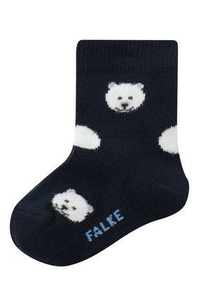 Детские носки FALKE синего цвета, арт. 12906. | Фото 1