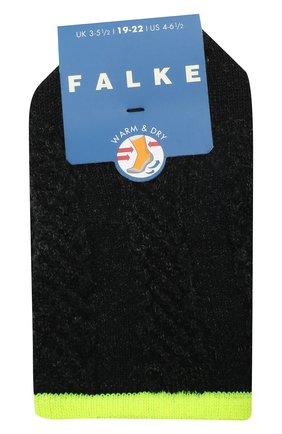 Детские носки FALKE темно-серого цвета, арт. 12917. | Фото 1