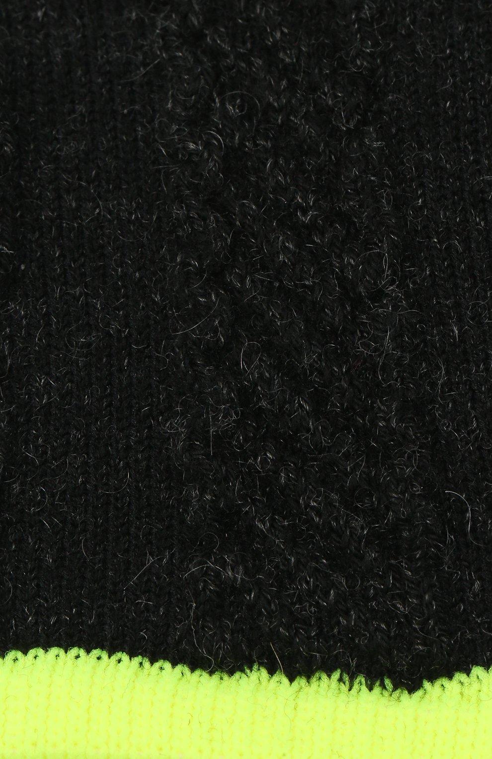 Детские носки FALKE темно-серого цвета, арт. 12917. | Фото 2