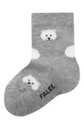 Детские носки FALKE серого цвета, арт. 12906. | Фото 1