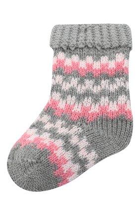 Детские носки FALKE серого цвета, арт. 12905. | Фото 1