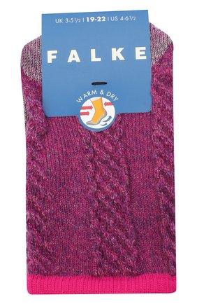 Детские носки FALKE розового цвета, арт. 12917. | Фото 1