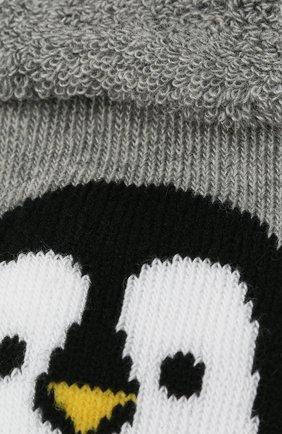 Детские носки FALKE серого цвета, арт. 12908. | Фото 2