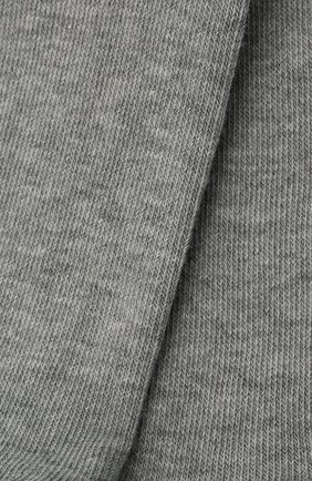 Детские хлопковые колготки FALKE серого цвета, арт. 13625. | Фото 2